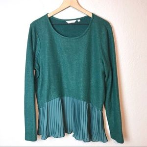 Lauren Conrad Accordion Pleat Sweater